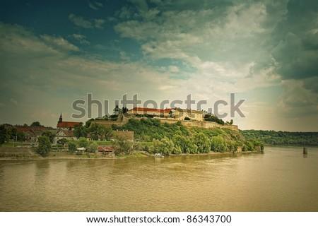 Petrovaradin fortress Novi Sad Serbia - stock photo
