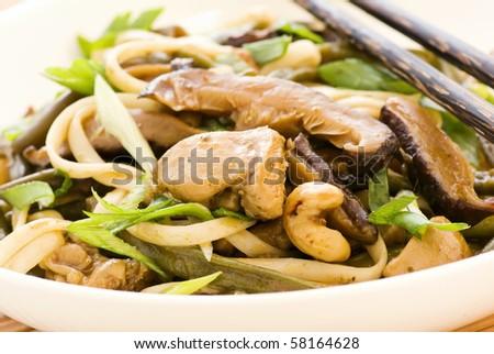 Phad Gai - stock photo