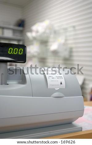 Pharmacy Cash Register - stock photo