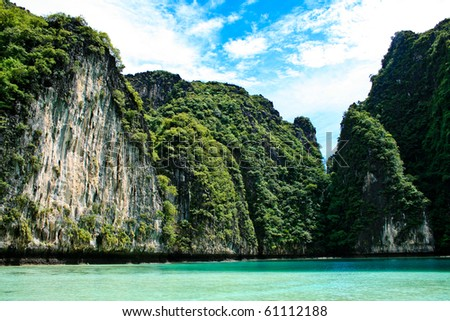 Phi Phi islands and Maya Bay in Thailand