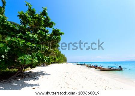 Phi-Phi Islands, Andaman Sea, Thailand - stock photo