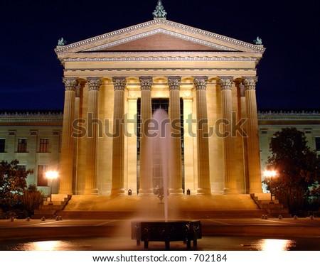 Philadelphia Art Museum - stock photo