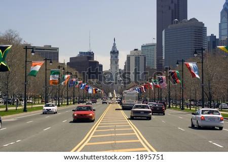 Philadelphia City Hall - stock photo
