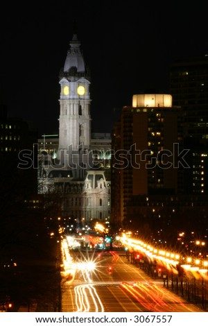 Philadelphia City Hall - stock photo