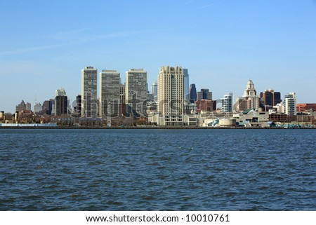Philadelphia City skyline - stock photo