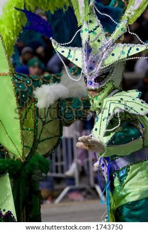 Philadelphia Mummers Parade, 1 January 2006 - stock photo