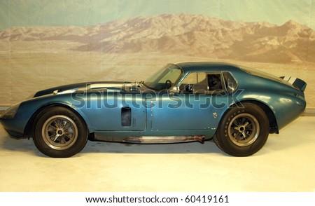 PHILADELPHIA, PA- SEPT 2: Simeone Foundation Automotive Museum shows off a very rare original condition 1964 Cobra Daytona Coupe. September 2, 2010 in Philadelphia. - stock photo