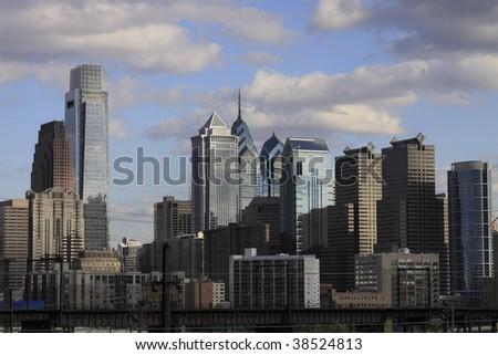 Philadelphia Skyline - stock photo