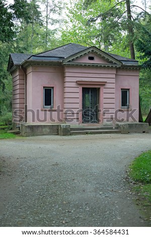 Philosophers house in park Schoenbusch near Aschaffenburg