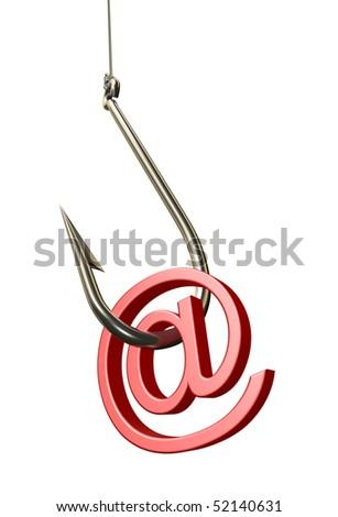 Phishing - stock photo