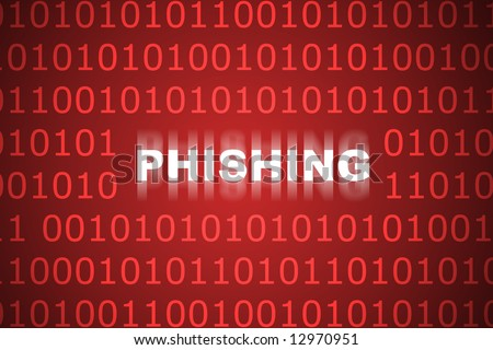 Phishing Abstract Background in Web Security Series Set - stock photo
