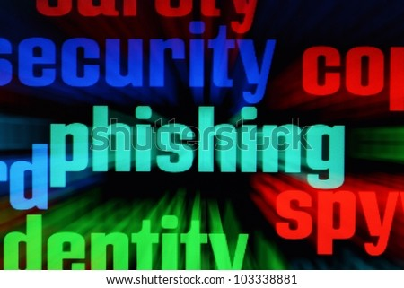 Phishing and spy concept - stock photo