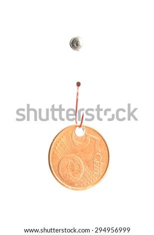 phishing money - stock photo