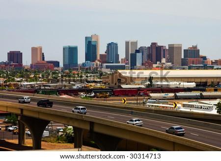 Phoenix Arizona - stock photo