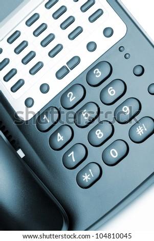 Phone. Modern phone, high detailed photo. - stock photo