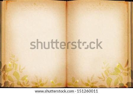 Photo album Vintage style ,illustration - stock photo