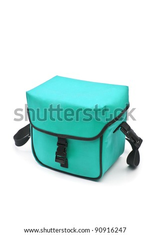 Photo-bag isolated on the white - stock photo