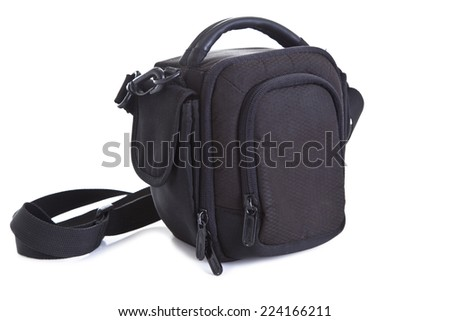 Photo-bag isolated on the white background