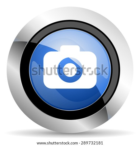 photo camera icon photography sign original modern design for web and mobile app on white background  - stock photo