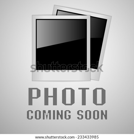 photo coming soon image - stock photo
