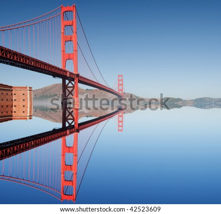 photo golden gate bridge in san francisco - stock photo