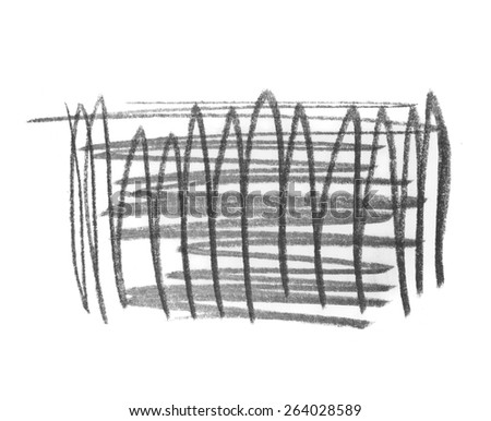 photo grunge graphite pencil texture isolated on white background - stock photo