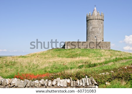 photo irish castle from the west of ireland
