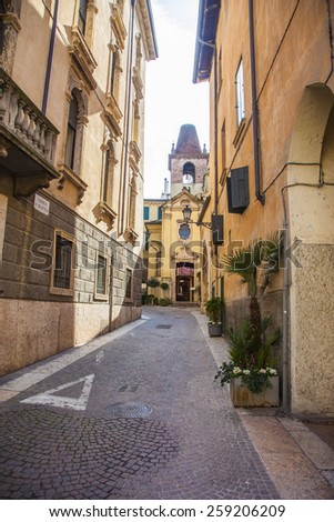 Photo Italian street - stock photo