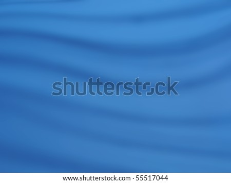 photo of a blue fabric background