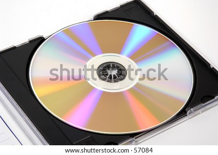 Photo of a CD in Its Case