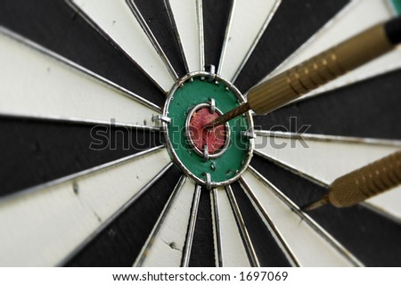 Photo of a Dartboard