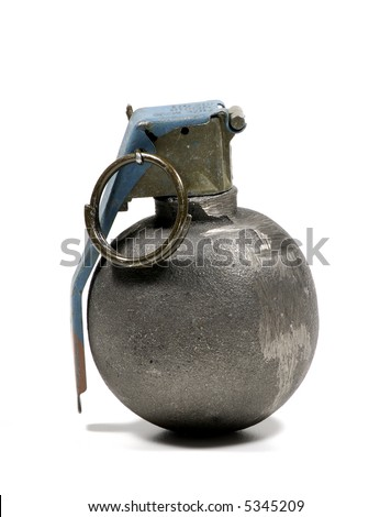 Photo of a Hand Grenade - Weapon / War Related - stock photo