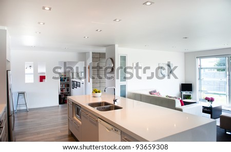 Photo of a modern interior design home
