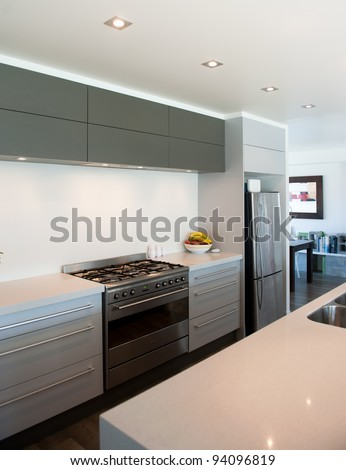 Photo of a modern interior designer kitchen