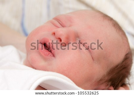 photo of a Newborn baby boy
