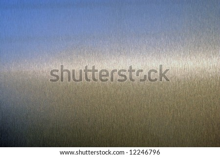 photo of a real metal surface - stock photo