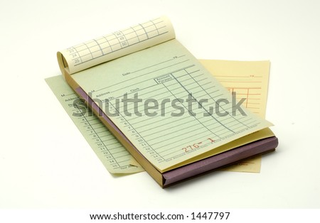 Receipt Book Stock Images, Royalty-Free Images & Vectors ...
