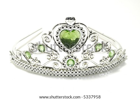 Photo of a Tiara Crown - stock photo