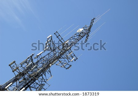 Photo of a Transmission Tower