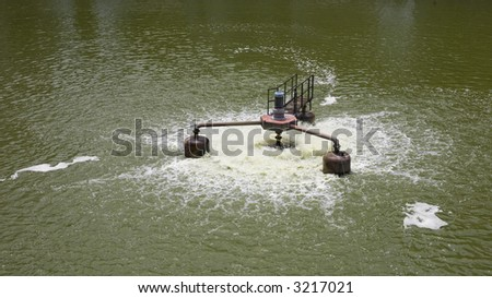 Photo of a Water Treatment Device - stock photo
