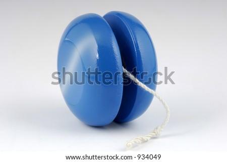Photo of a Wooden Yo-Yo - stock photo