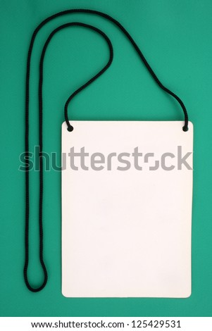 Photo of Badge - stock photo