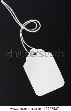 Photo of Blank price tag - stock photo