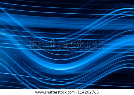 photo of blue light - stock photo
