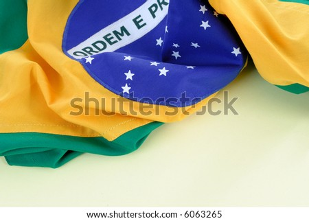 Photo of Brazil Republic National flag .