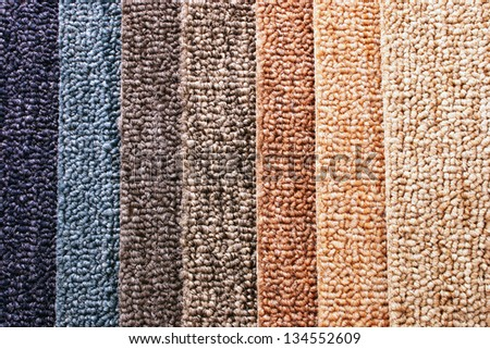 Photo of Carpet Guide Strips - stock photo