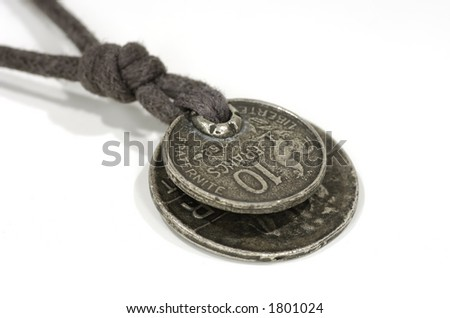 Photo of Coins on a String - Neclace