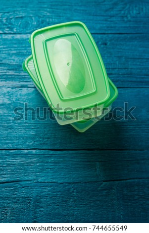 Photo of containers for food