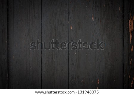 Photo of dark wood background textured - stock photo