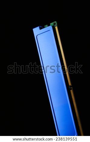 Photo of DDR RAM memory module - stock photo